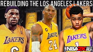 getlinkyoutube.com-NBA 2K16 MyLEAGUE: Rebuilding the Los Angeles Lakers!