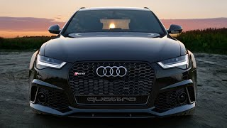 getlinkyoutube.com-2017 Audi RS6 Performance blacked out 605hp - exterior, interior, acceleration etc