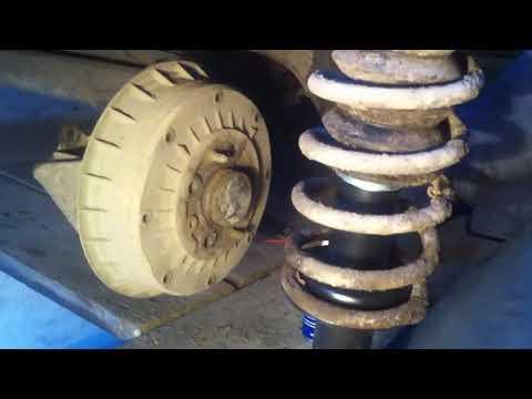 Замена задних стоек (амортизаторов) на ВАЗ 2110, 2112, 2114