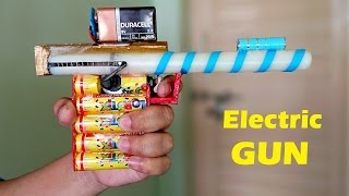 getlinkyoutube.com-How to Make an Electric GUN using Motor that shoots