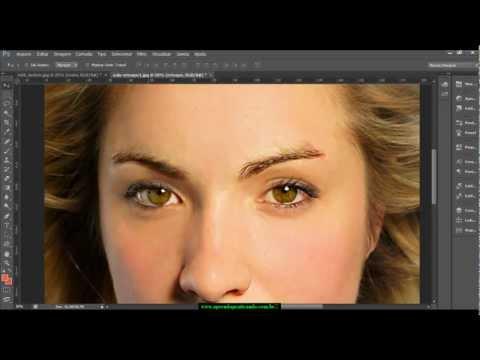 Video aula 1 - Maquiagem digital profissional com Photoshop CS6 - HDTV