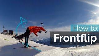 getlinkyoutube.com-HOW TO FRONTFLIP ON SKIS