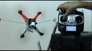 getlinkyoutube.com-KK2.0 Multi-rotor LCD Flight Control Board with PCB Micro-Quad Vol.27 Test flight