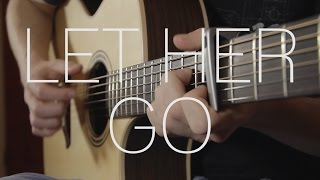 getlinkyoutube.com-Passenger - Let Her Go - Fingerstyle Guitar Cover - With Tabs