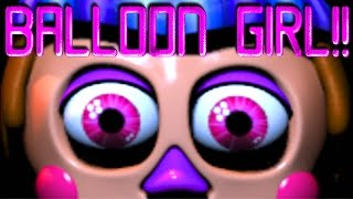Five Nights at Freddy's 2 BALLOON GIRL EASTER EGG!