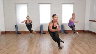 getlinkyoutube.com-Burn 500 Calories in 45 Minutes With This Cardio and Sculpting Workout | Class FitSugar
