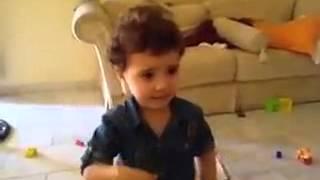 getlinkyoutube.com-Sweet syrian little girl