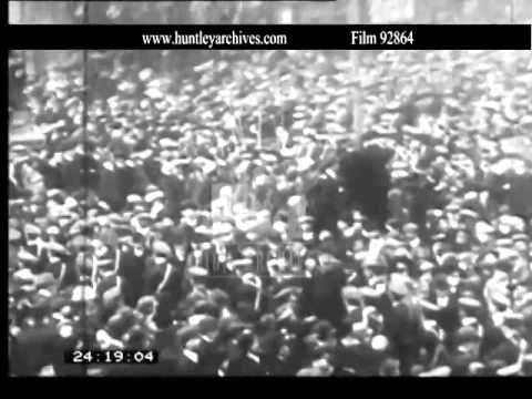 Irish Volunteers. Archive film 92864