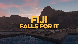 World of Warships - Fiji Falls for It