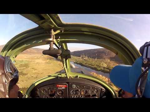Low-level flight and aerobatics in the Cederberg area
