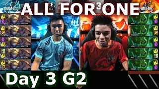 getlinkyoutube.com-Oceania (Ezreal) vs Brazil (Zac) One For All Mode | 2016 LoL IWC All-Stars Day 3 | FIRE vs ICE