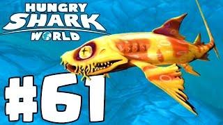 HEIDI WOBBEGONG SHARK | New Invisible Shark Gameplay | Hungry Shark World Part 61