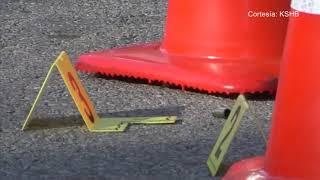 Un hombre grabó la huida de un asesino con la cual se identificó al sospechoso.
