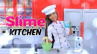 SLIME KITCHEN: DIY - How to Make Doll SLIME | Sugar Cookies | Eggs | Coffee | Ice | Lemonade & More