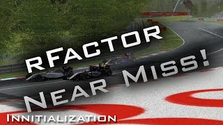getlinkyoutube.com-Nebula rFactor F1 2015 | Near Crash at Austria!