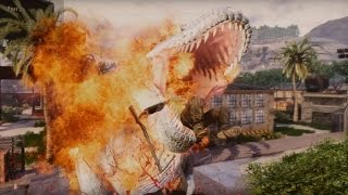 getlinkyoutube.com-FUNNY PRIMAL CARNAGE 29 - Flaming T-Rex