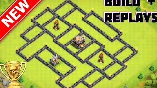 getlinkyoutube.com-New BEST Th11 War/Trophy Base [Build+Replays] | The Supreme Series | Separated Inferno Towers