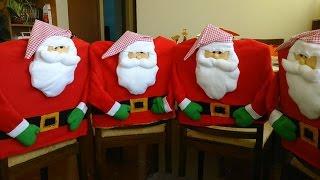 Funda para silla con Santa