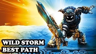 Skylanders Imaginators - Wild Storm - Feral Beast Path - BEST PATH - GAMEPLAY