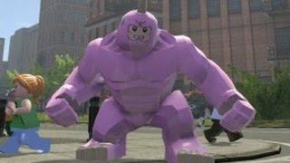 getlinkyoutube.com-LEGO Marvel Super Heroes - Pink Rhino Free Roam Gameplay (PS4)