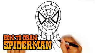getlinkyoutube.com-How to Draw Spiderman - Step by Step Video