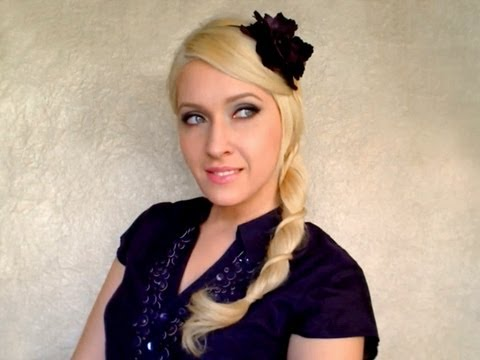Rope braid hair tutorial Cute easy pretty hairstyles for long hair with extensions spring 2011