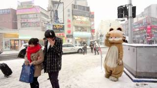 getlinkyoutube.com-Snow in Seoul
