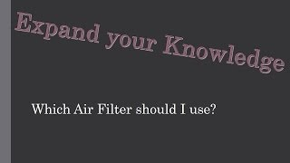 getlinkyoutube.com-Which A/C Air Filter Should I Use?