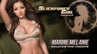 getlinkyoutube.com-Melanie Iglesias' Veteran's Day SlickforceGirl Salute