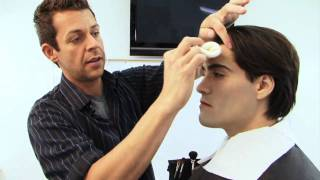 getlinkyoutube.com-Twilight Makeup Tutorial - Edward Cullen Vampire Make-up Tutorial