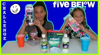 FIVE BELOW SLIME CHALLENGE ./ TESTING NEW ACTIVATOR FROM FIVE BELOW