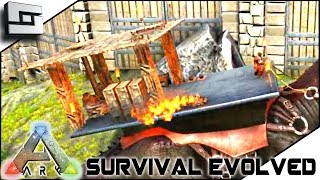 ARK: Survival Evolved - BUILDABLE SADDLES! S2E8 ( Gameplay )