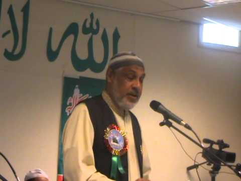 Saeed Chaudhary reciting a beautiful naat of Ehsan Sehgal