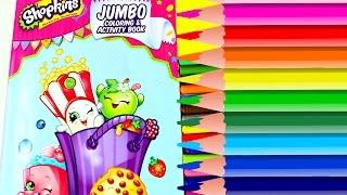getlinkyoutube.com-Coloreando Dibujos de Shopkins Libro de Actividades| Coloring Book|Mundo de Juguetes