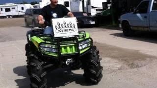 getlinkyoutube.com-Extreme Arctic Cat 1000 Mud Pro