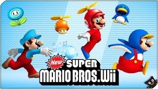 getlinkyoutube.com-Trolleo en pareja! - New Super Mario Bros Wii con @Naishys