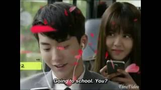 getlinkyoutube.com-YIBI HAN YIAN & LEE EUNBI 😍😊😙 SCHOOL 2015