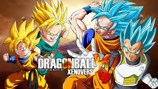 getlinkyoutube.com-Dragon Ball Xenoverse MODS | Goten & Trunks VS SSJGSSJ Goku & Vegeta (Duels)