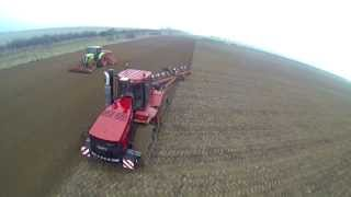 getlinkyoutube.com-Case Quadtrac ploughing in Lincolnshire 2013 Shot by Farming Photography