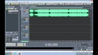 كيفية ضبط اعدادات المايكات والسبيكر واضافة تأثيرات صوتية في برنامج الادوبي اديشن 1.5