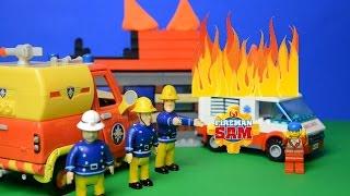 getlinkyoutube.com-Fireman sam episodes peppa pig storys Fire Rescue Feuerwehrmann Sam