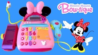 getlinkyoutube.com-Disney Junior Mickey Mouse Clubhouse Minnie Mouse Bow-tique Electronic Cash Register