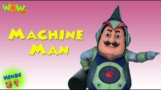 getlinkyoutube.com-Machine Man - Motu Patlu in Hindi