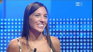 getlinkyoutube.com-Scossa di Eleonora Cortini e Ballo del L'Eredità del 05.09.2011