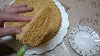 getlinkyoutube.com-Медовый торт ( Медовик, Рыжик) Старинный лучший Рецепт  МЕДОВИКА   Как приготовить медовый торт