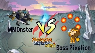 getlinkyoutube.com-MMonster defeat Boss Pixelion - Monster Legends