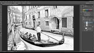 getlinkyoutube.com-Tutorial photoshop. Fotografías a dibujo.