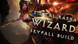 """getlinkyoutube.com-Best 2.2 Tal Rasha """"Skyfall"""" Wizard Build & Gear - Diablo 3 Reaper of Souls Guide"""