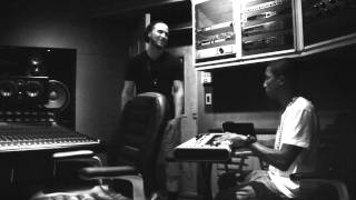 Mike Posner & Pharrell (Studio Session)