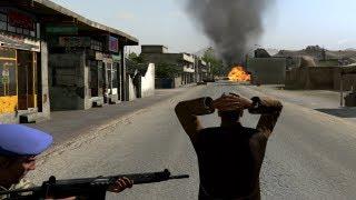 getlinkyoutube.com-Car BOMB vs. Police - Takistan Life Revolution (Arma 2)